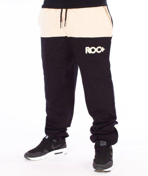 RocaWear-Fleecepant Retro Sport Spodnie Dresowe Czarne