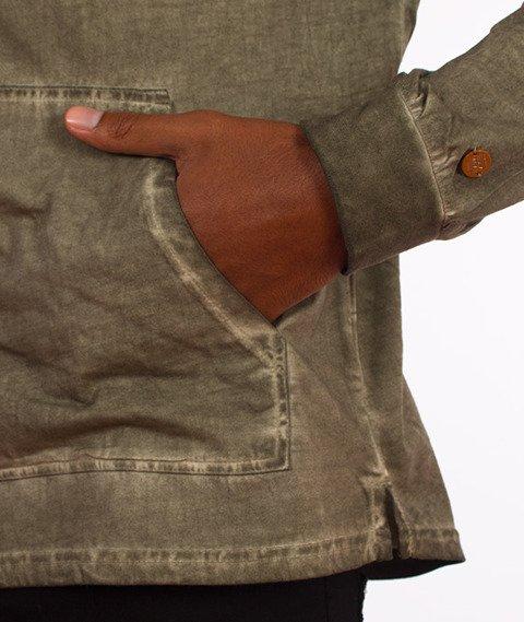 RocaWear-Light Hoody Bluza Kaptur Oliwkowa