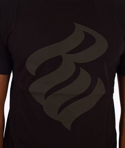 Rocawear-Rocawear Logo T-Shirt Czarny/Czarny