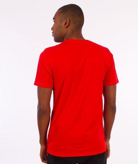 Rocawear-Rocawear Logo T-Shirt Czerwony