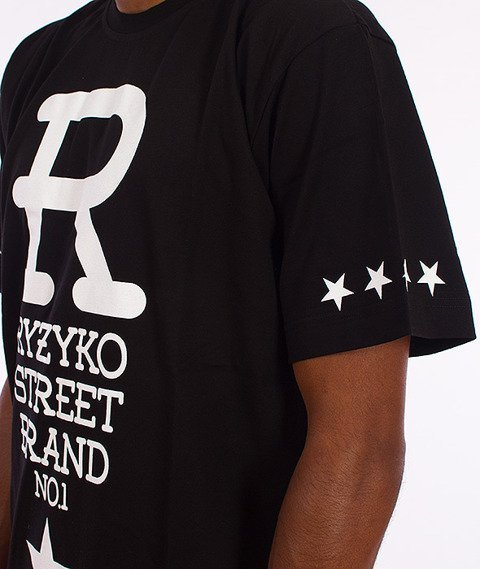Ryzyko-Big R T-shirt Czarny