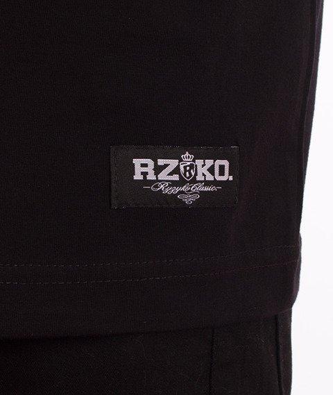 Ryzyko-Ryzyko Clthn T-shirt Czarny
