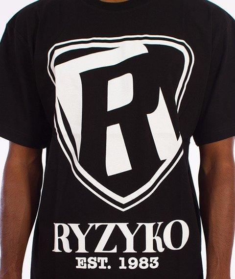 Ryzyko-Shield T-shirt Czarny