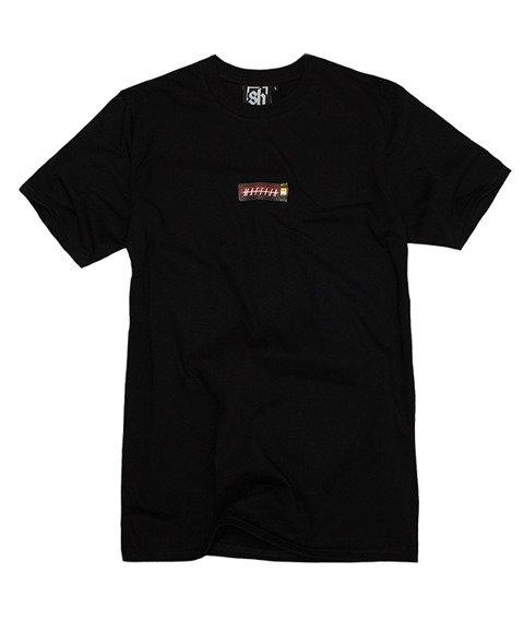 SB Maffija-H8M4 2 T-Shirt Czarny