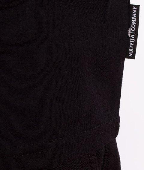 SB Maffija-Mini Logo Classic T-Shirt Czarny