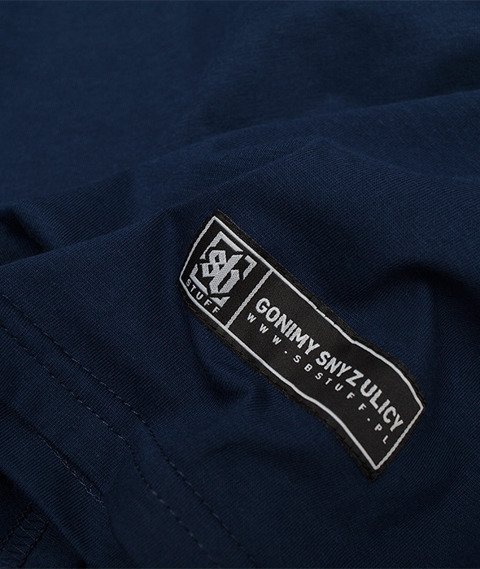 SB Maffija-SB Stuff Tiny T-Shirt Granatowy