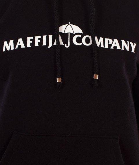SB Maffija-Umbrella Logo Bluza Kaptur Czarna