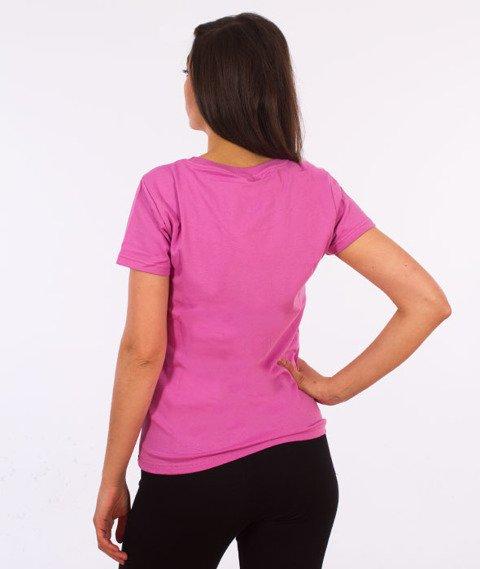 Saint Mass-Signature T-shirt Damski Różowy