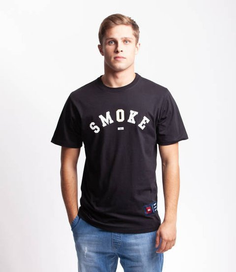 Smoke Story BASEBALL T-Shirt Czarny
