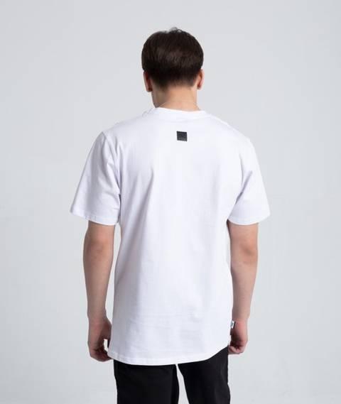 Smoke Story FIGHT THE POWER T-Shirt Biały