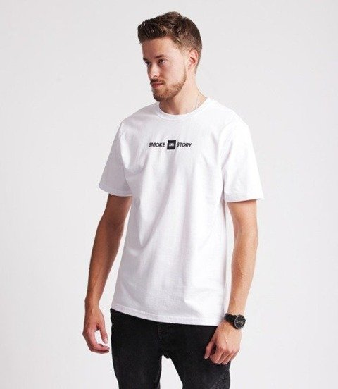 Smoke Story PIERCE T-Shirt Biały