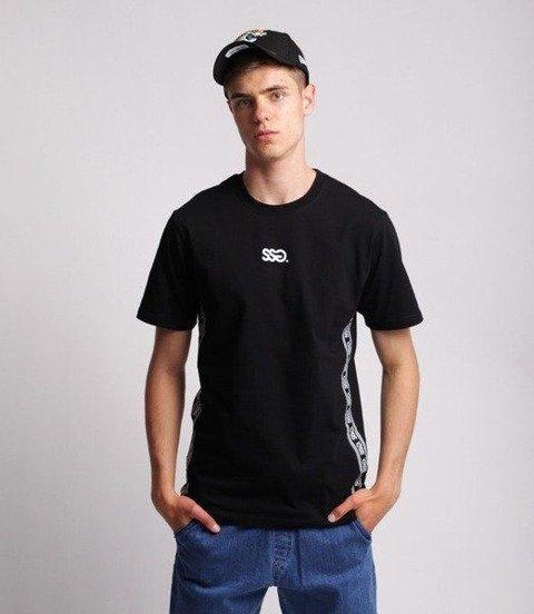 Smoke Story SIDE TAPE T-Shirt Czarny