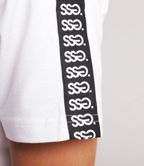 Smoke Story TAPE T-Shirt Biały