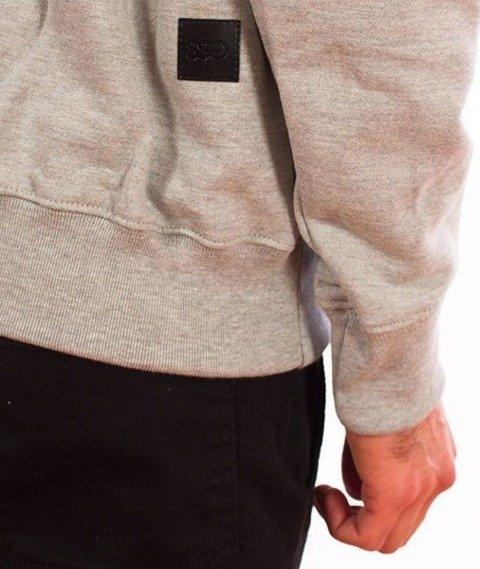 SmokeStory-Big Bluza Kaptur Jasny Melanż