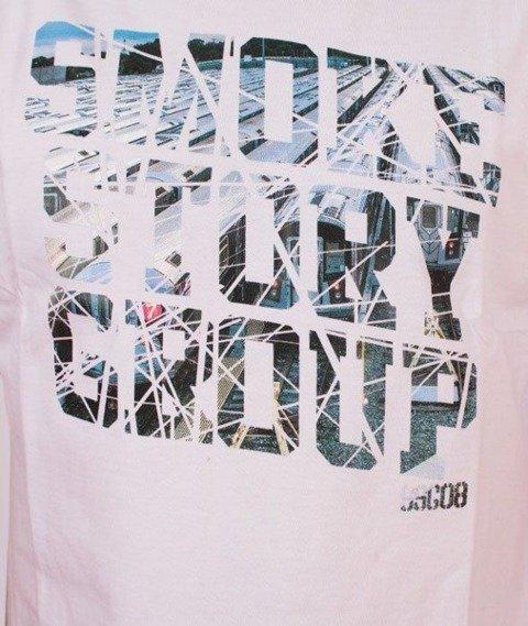 SmokeStory-Broken T-Shirt Biały