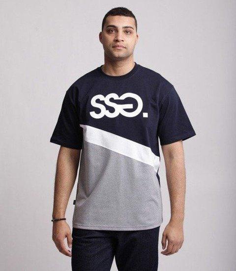 SmokeStory-CUT CLASSIC T-Shirt Granatowy