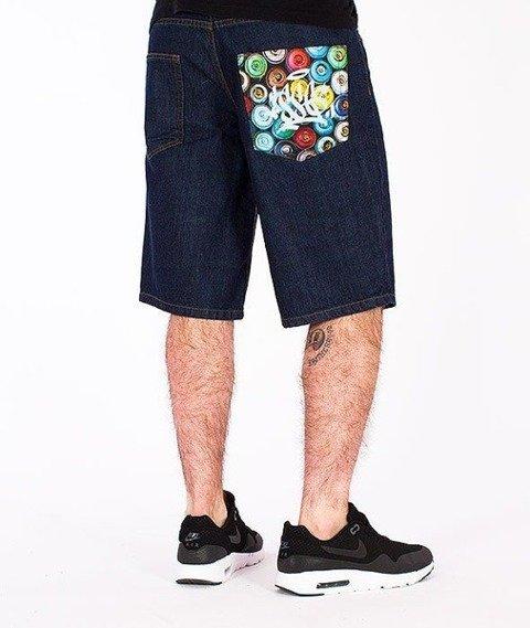 SmokeStory-Cans Krótkie Spodnie Dark Blue