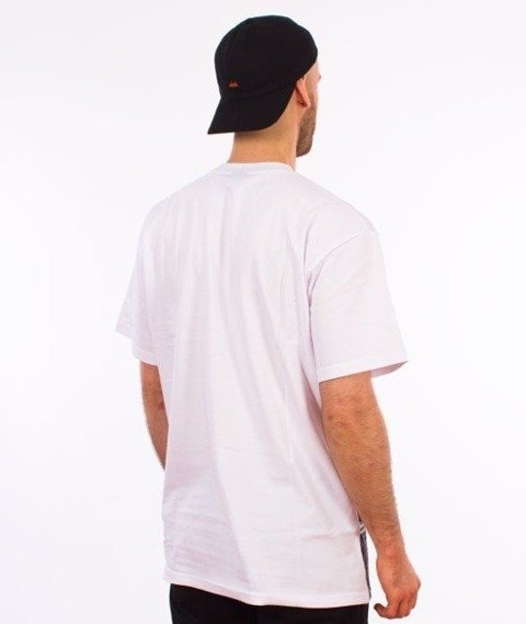 SmokeStory-City 08 Stars T-Shirt Biały
