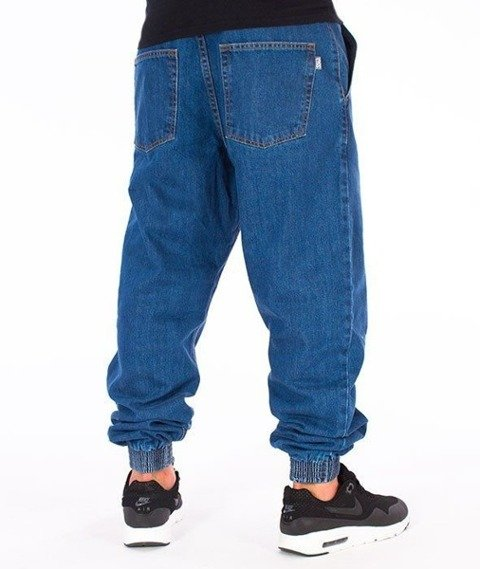 SmokeStory-Classic Jogger Jeans Regular Spodnie Light Blue