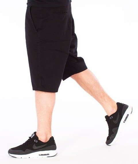 SmokeStory-Classic Krótkie Spodnie Slim Czarne