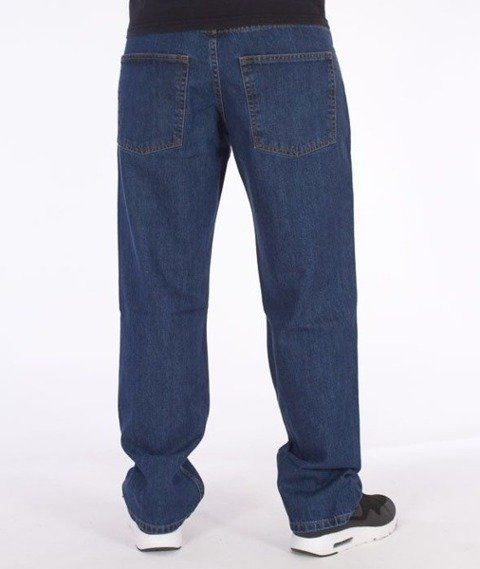 SmokeStory-Classic Regular Jeans Medium Blue
