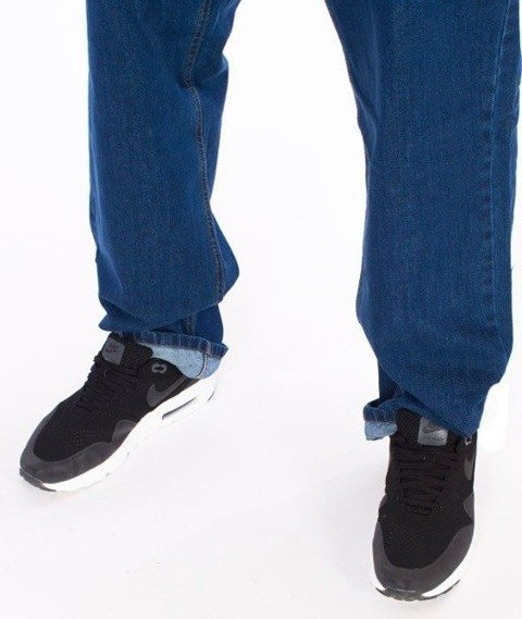 SmokeStory-Classic Regular Jeans Spodnie Medium Blue