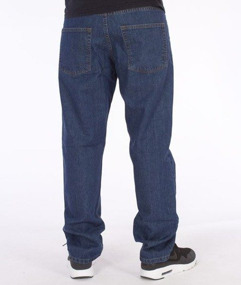 SmokeStory-Classic Slim Jeans Medium Blue