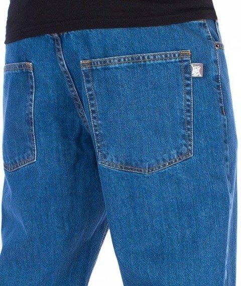 SmokeStory-Classic Slim Jeans Spodnie Light Blue
