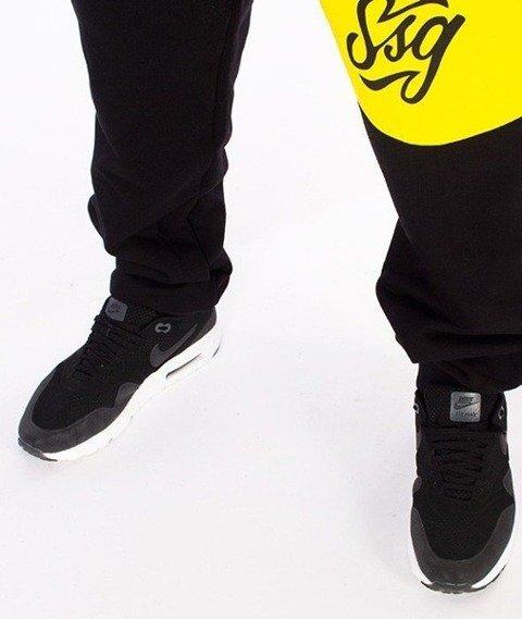 SmokeStory-Colors Line Regular Spodnie Dresowe Czarne