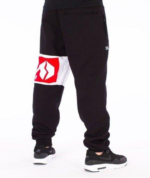 SmokeStory-Double SSG Regular Spodnie Dresowe Czarne