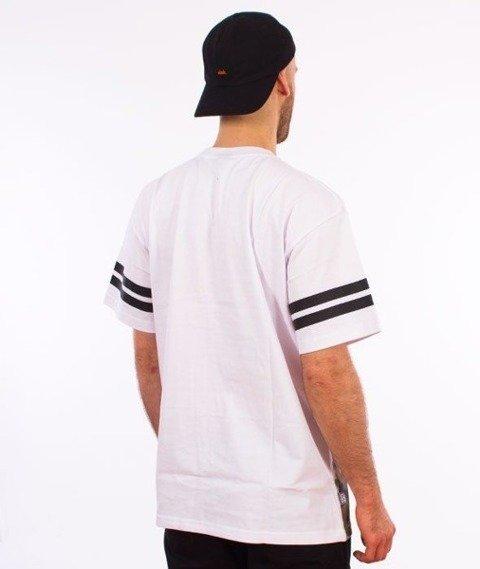 SmokeStory-Gradient Moro T-Shirt Biały