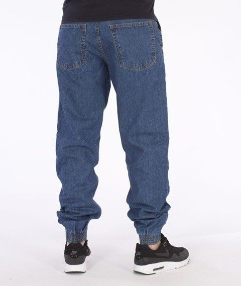 SmokeStory-Jogger Regular Classic Jeans Light Blue