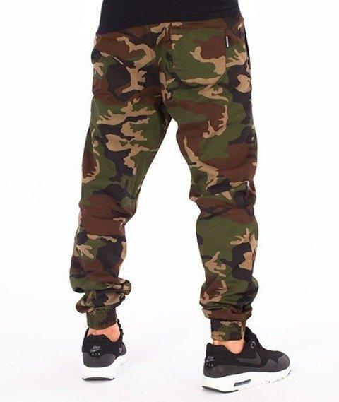 SmokeStory-Jogger Slim Spodnie Camo