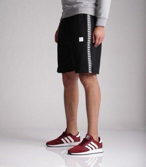 SmokeStory-Light Lampas Krótkie Spodnie Bawełniane Czarne