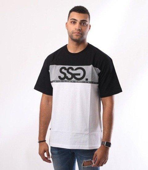 SmokeStory-Line SSG T-Shirt Czarny/Biały