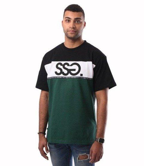 SmokeStory-Line SSG T-Shirt Czarny Zielony