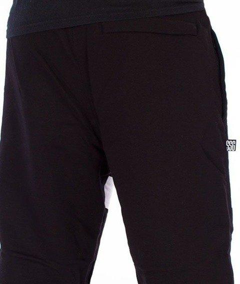 SmokeStory-Lines Jogger Spodnie Dresowe Czarne