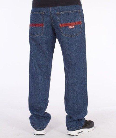 SmokeStory-Lines Regular Jeans Medium Blue