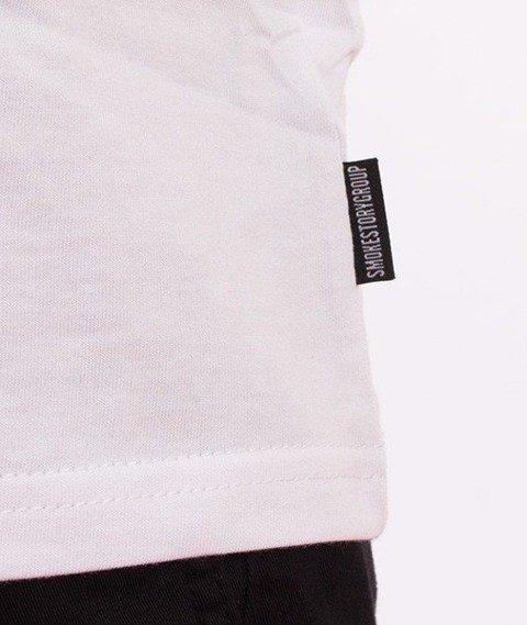 SmokeStory-Mary Tag T-Shirt Biały