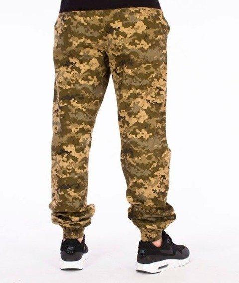 SmokeStory-Moro Jogger Regular Fa16 Spodnie Lądowy Pixel