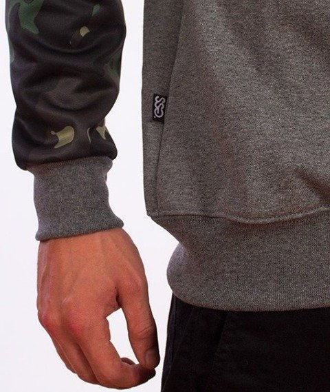 SmokeStory-Moro Sleeves Klasyk Bluza Grafitowa