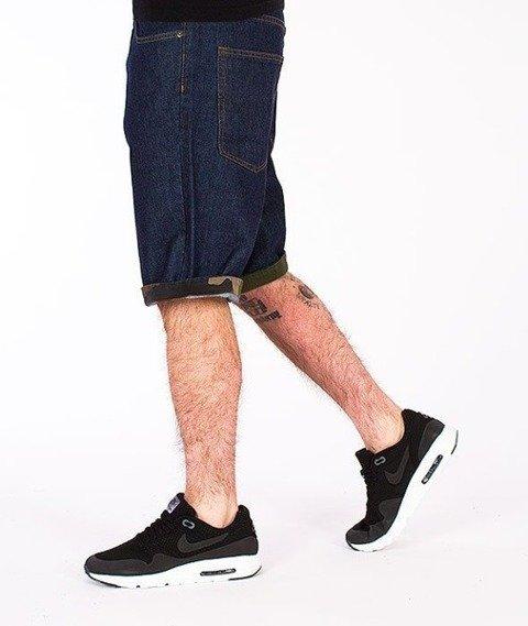 SmokeStory-Moro Wstawki Krótkie Spodnie Dark Blue