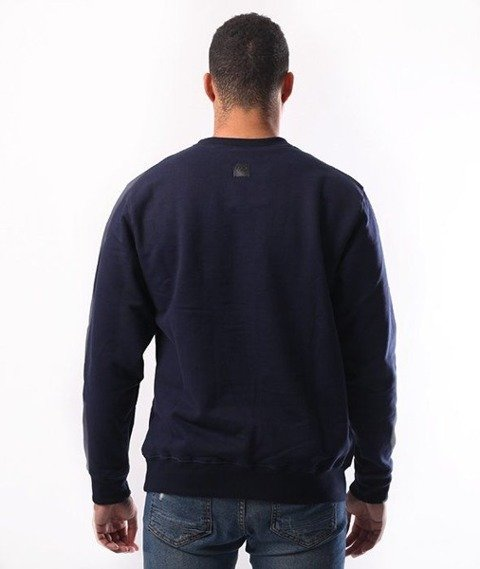 SmokeStory-Outline Colors Crewneck Bluza Granatowa