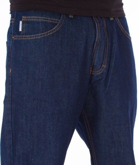 SmokeStory-Outline SSG Regular Jeans Dark Blue