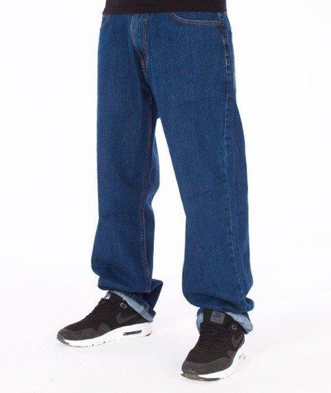 SmokeStory-Outline SSG Regular Jeans Medium Blue