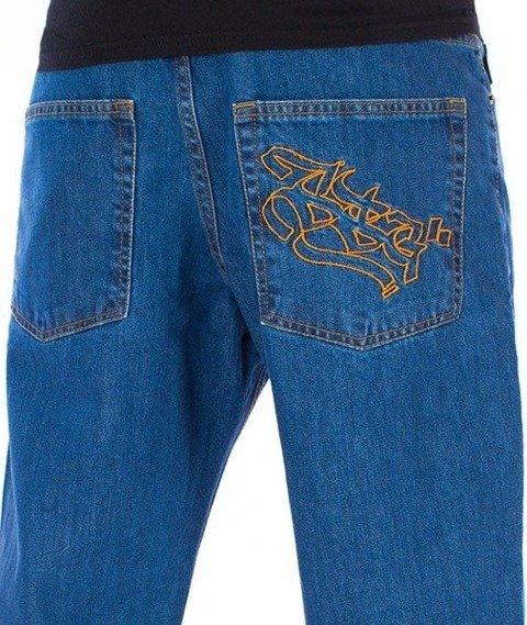 SmokeStory-Outline SSG Regular Jeans Spodnie Light Blue