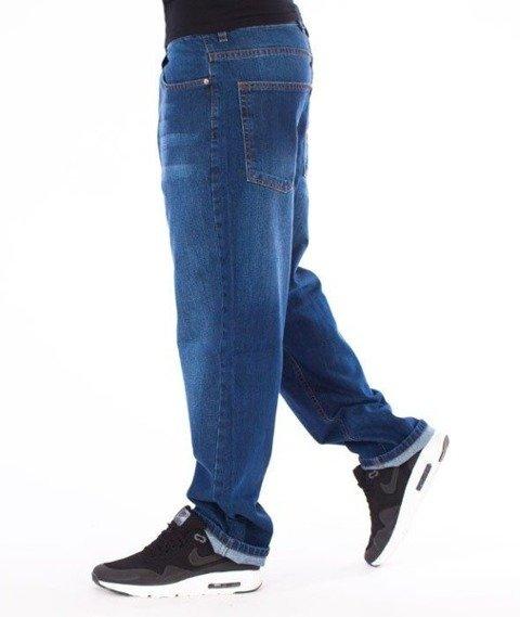 SmokeStory-Outline SSG Regular Jeans Spodnie Wycierane
