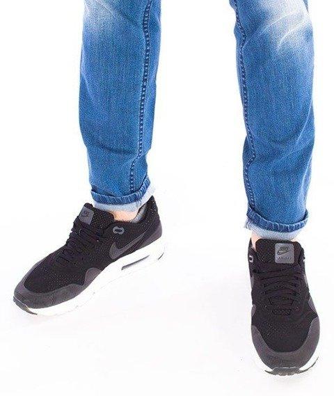 SmokeStory-Premium Jeans Stretch Skinny z Gumą Spodnie Na Górze Light Cieniowane