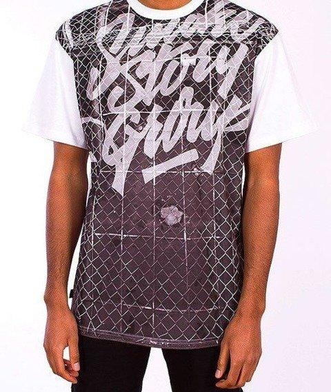 SmokeStory-Prison T-Shirt Biały