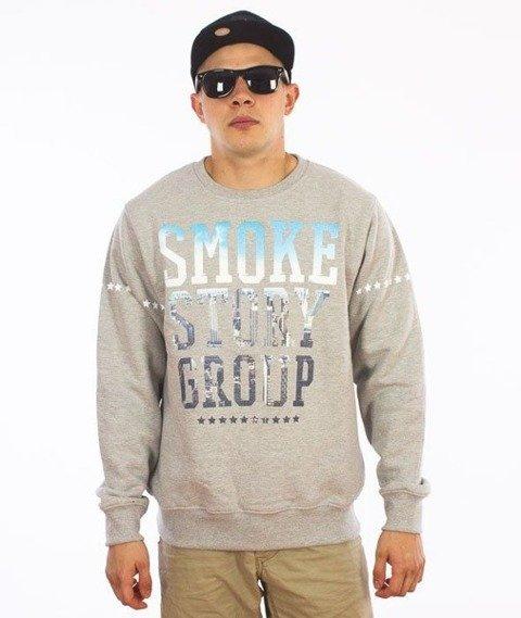SmokeStory-SMG Photo Klasyk Bluza Szara